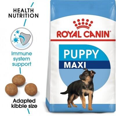 SIZE HEALTH NUTRITION MAXI PUPPY 4 KG