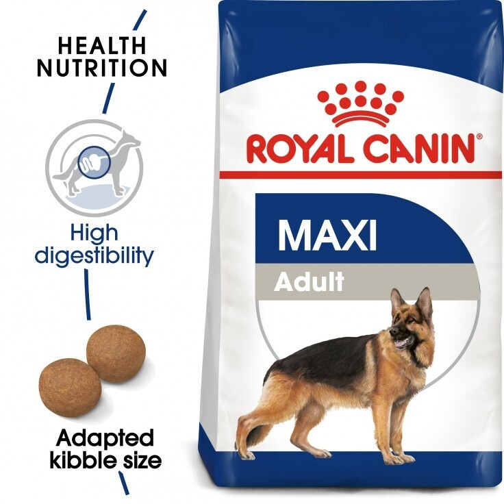 SIZE HEALTH NUTRITION MAXI ADULT 4 KG