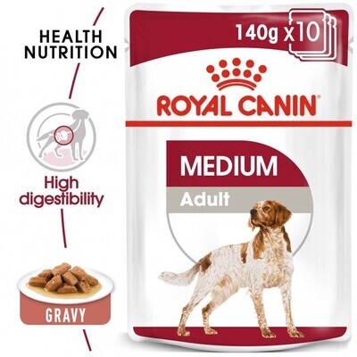 SIZE HEALTH NUTRITION MEDIUM ADULT (WET FOOD - POUCHES)