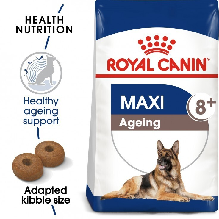 SIZE HEALTH NUTRITION MAXI AGEING 8+ 15 KG