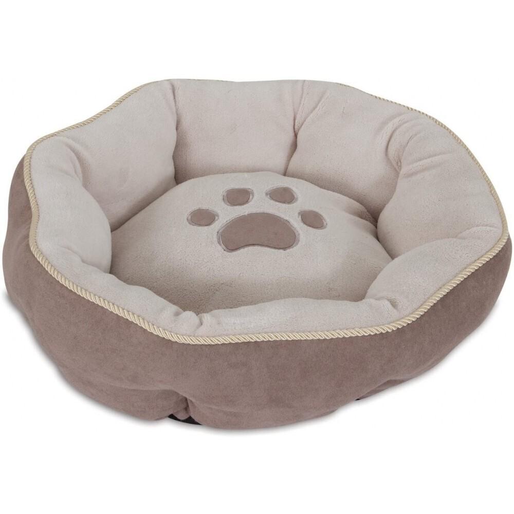 PET MATE ASPEN PET 18 SCULPTURED ROUND BED SSS (MIX COLORS)