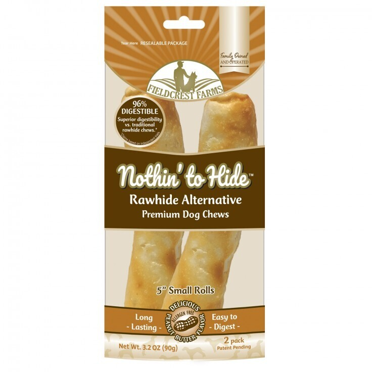 NOTHIN' TO HIDE SMALL ROLL - PEANUT BUTTER 90G