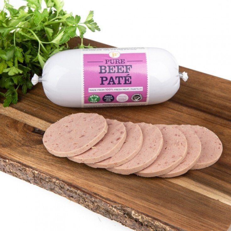 PURE BEEF PATE SAUSAGE 80G