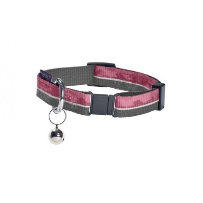 Nylon collar with camouflage pattern