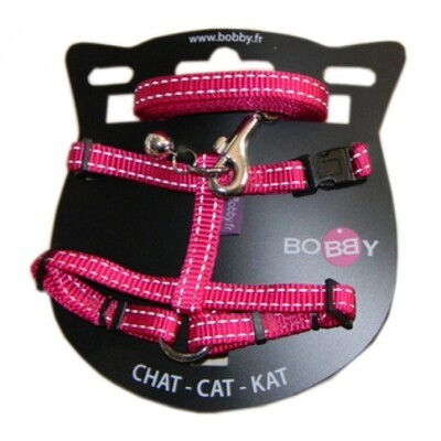 SAFE HARNESS & LEAD Pink
