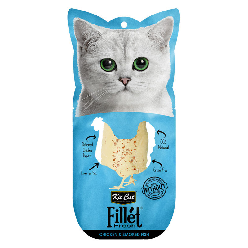 Kit Cat Fillet Fresh Chicken and Smoked Fish