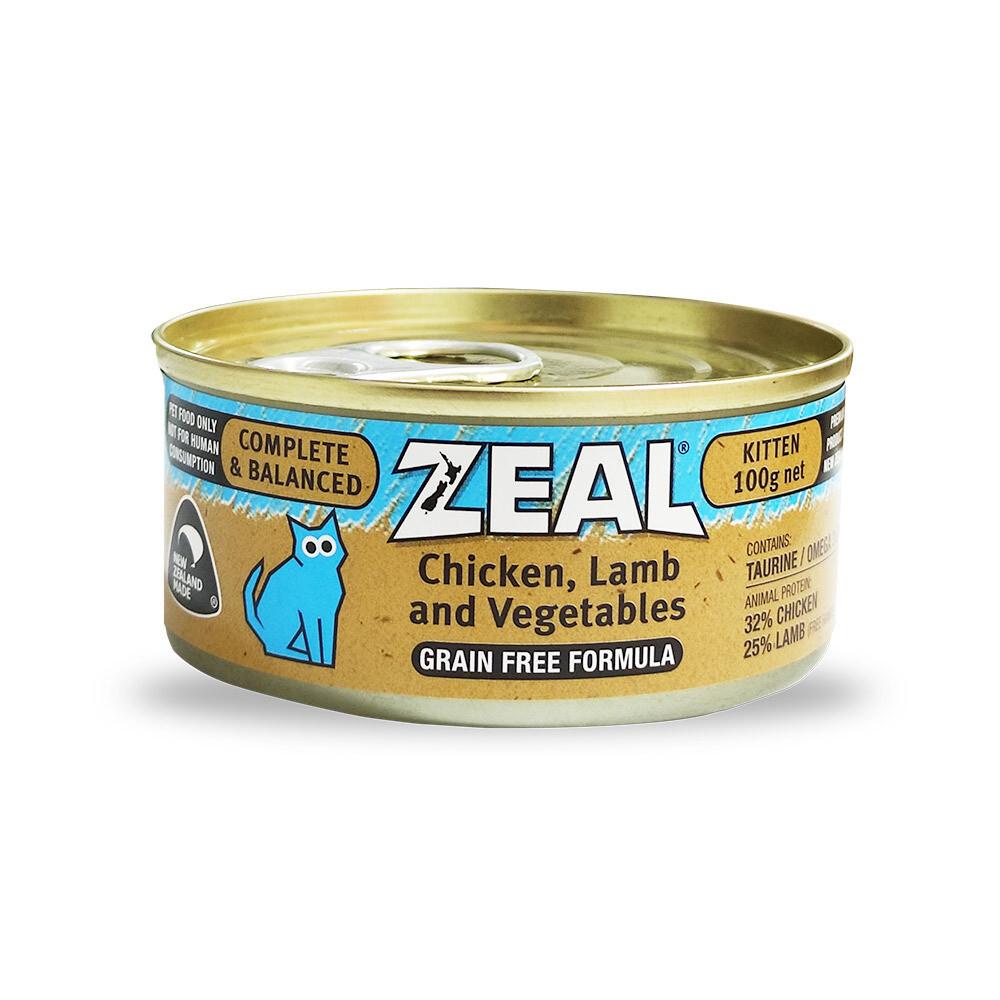 Zeal – Chicken, Lamb & Vegetable