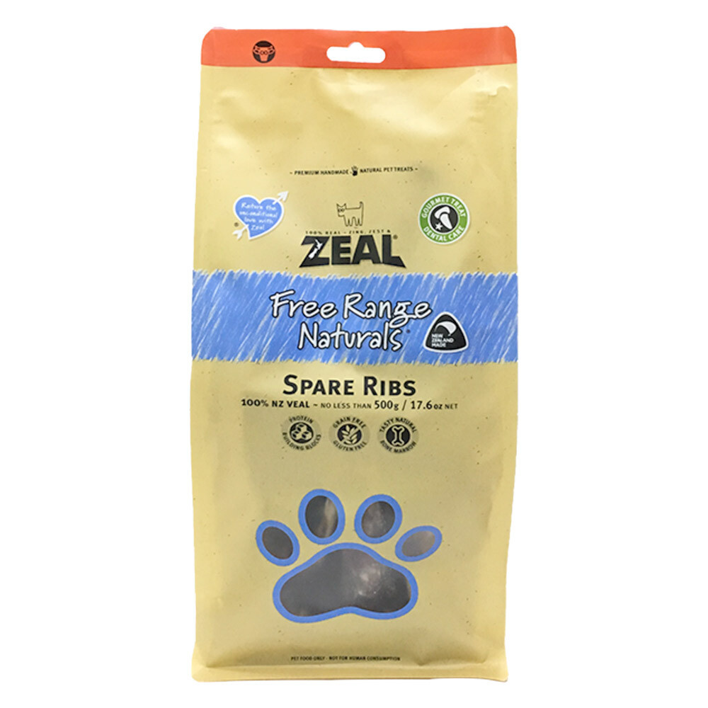 Zeal Spare Ribs (500gr)