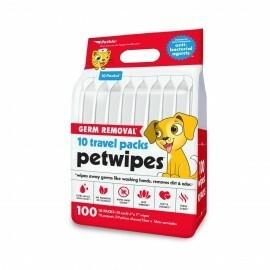 PETKIN Big Germ Pet Wipes - 100 Ct