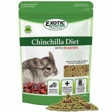 CHINCHILLA DIET WITH ROSE HIPS 2LB