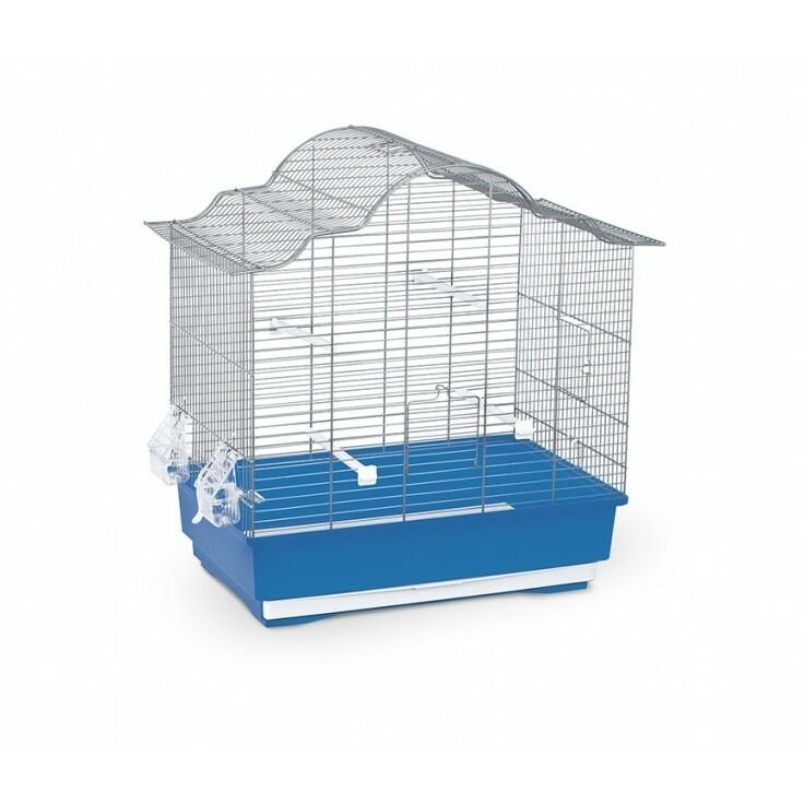 SOPHIA BIRD CAGE BLUE & WHITE.