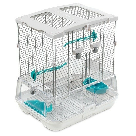 VISION SMALL BIRD CAGE - SINGLE HEIGHT