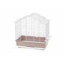SOPHIA BIRD CAGE PINK & WHITE L62XW40XH67 - EACH