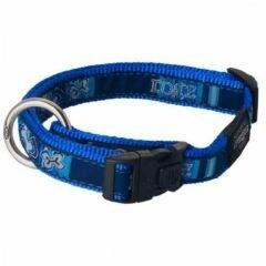 Rogz Turquoise Paw Collar