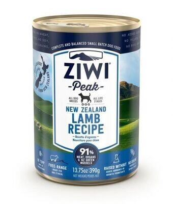 ZiwiPeak Lamb Recipe Canned Dog Food (390 G)