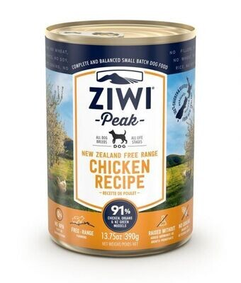 ZiwiPeak Chicken Recipe Canned Dog Food (390 G)