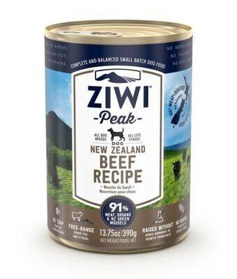 ZiwiPeak Beef Recipe Canned Dog Food (390 G)