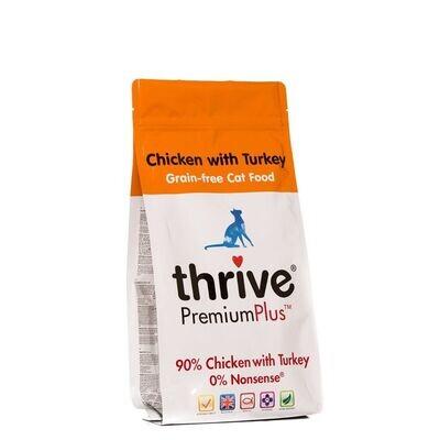 Thrive Cat Chicken with Turkey Dry Food 1.5KG