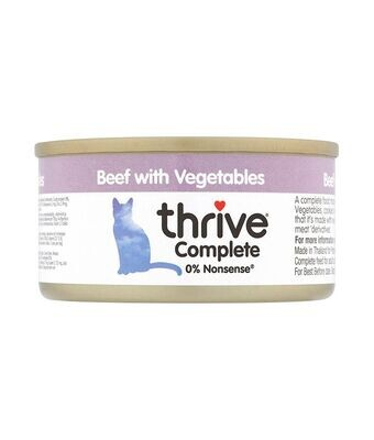 Thrive Complete Cat Beef with Vegetables Wet Food