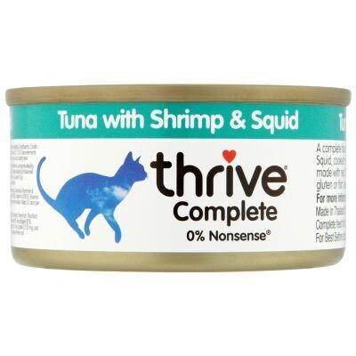 Thrive Complete Cat Tuna w/ Shrimp & Squid Wet Food