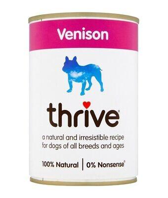 Thrive Complete Dog Venison Wet Food 400G