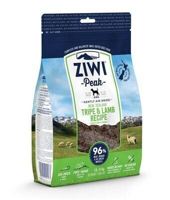 ZiwiPeak Air Dried Tripe & Lamb Dog Food 2.5KG