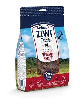 ZiwiPeak Venison Air Dried Dog Food 2.5KG