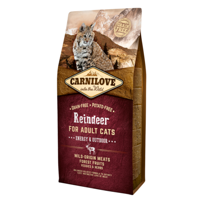 Carnilove Reindeer Dry Food for Adult Cats