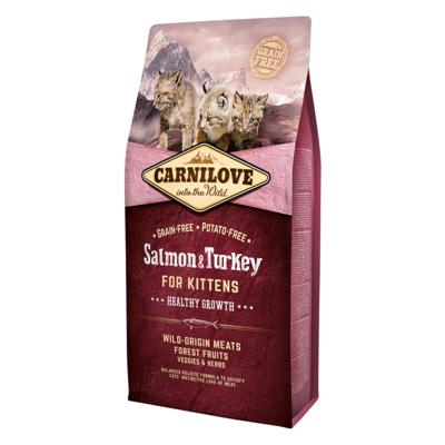 Carnilove Salmon & Turkey Dry Food for Kittens