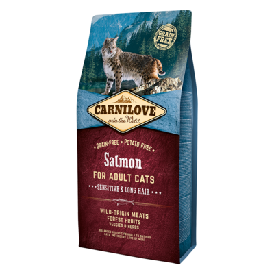 Carnilove Salmon Dry Cat for Adult Cats
