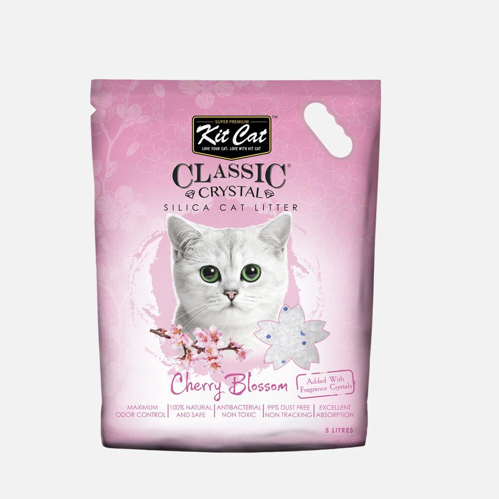 Kit Cat Classic Crystal Cat Litter – Cherry Blossom (5 Litres)