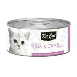 KitCat Wet Cat Food 400g - Tuna & Crab