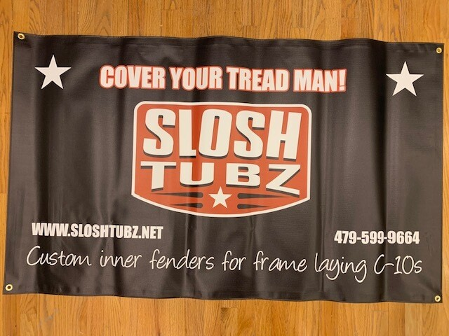 Slosh Tubz logo banner