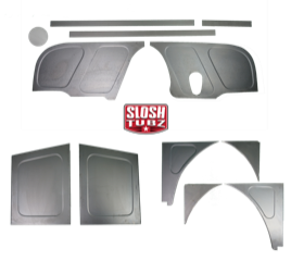 1967-72 Classic Slosh Tubz Filler Panels Bundle WITH steering cutout