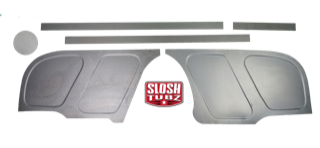 1967-72 Slosh Tubz Firewall Filler Panels without factory steering hole