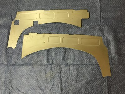 1981-87 Mild Tubz Filler Panels w/Battery and AC