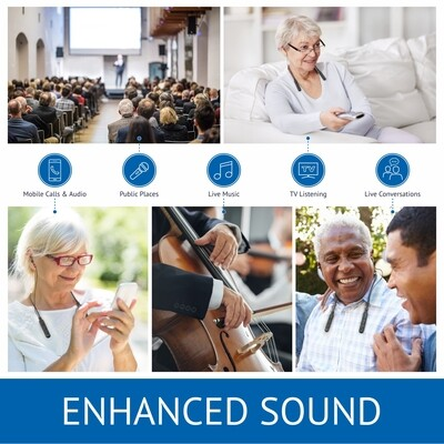 BeHear ACCESS Personalized Hearing Amplifier