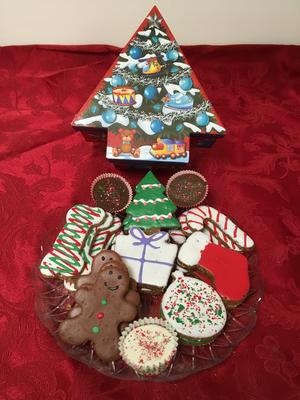 Asst. in Medium Christmas Tree Box
