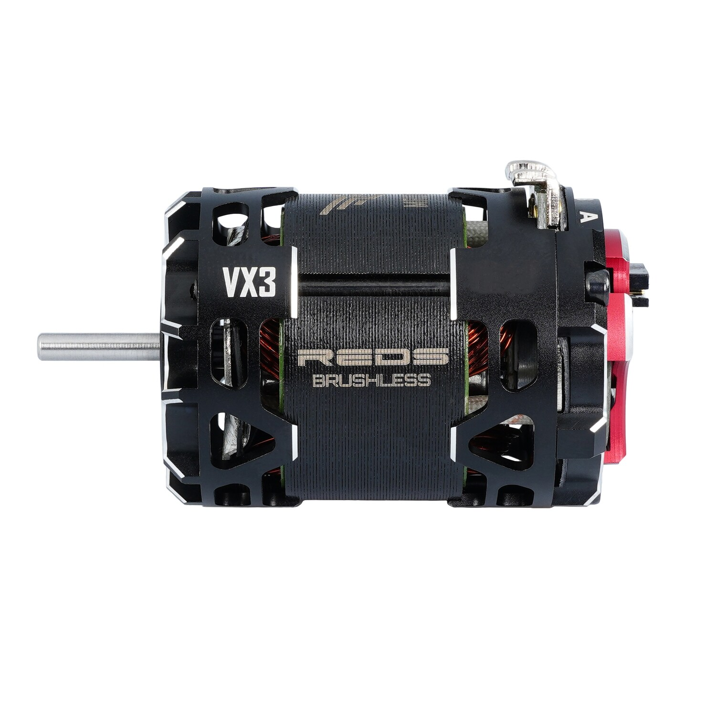 BRUSHLESS MOTOR REDS VX3 540 10.5T 2 POLE SENSORED