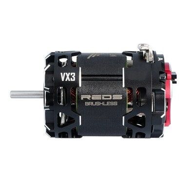BRUSHLESS MOTOR REDS VX3 540 13.5T 2 POLE SENSORED