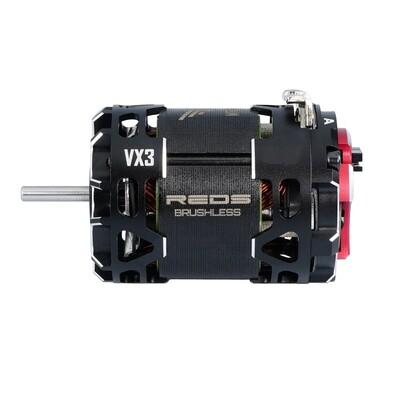 BRUSHLESS MOTOR REDS VX3 540 8.5T 2 POLE SENSORED