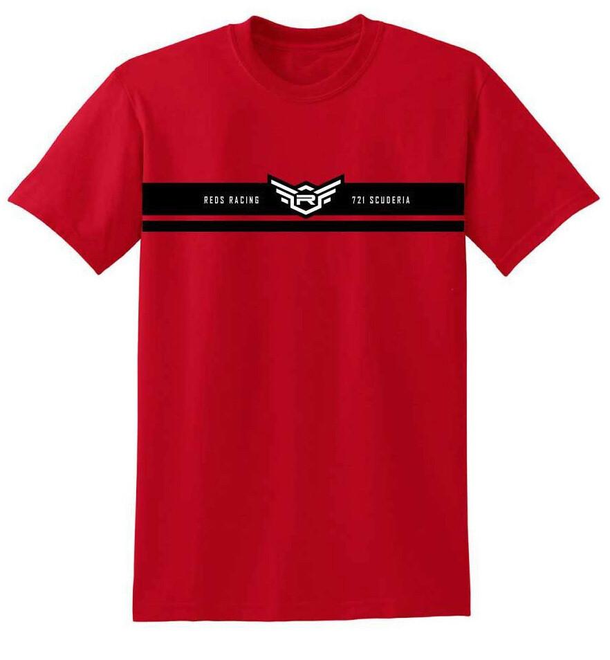 "T-SHIRT REDS ""4th COLLECTION"" RED S, M, L, XL, XXL, XXXL"