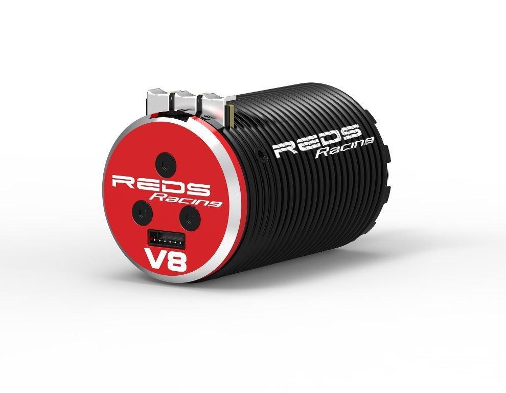 BRUSHLESS MOTOR REDS V8 1700KV 4 POLE SENSORED