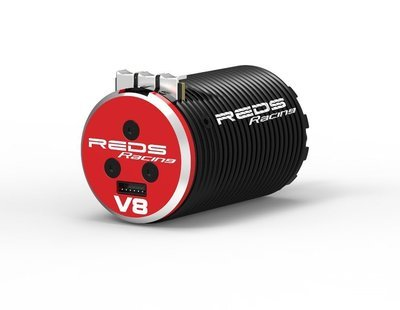 BRUSHLESS MOTOR REDS V8 1700KV 4 POLE SENSORED