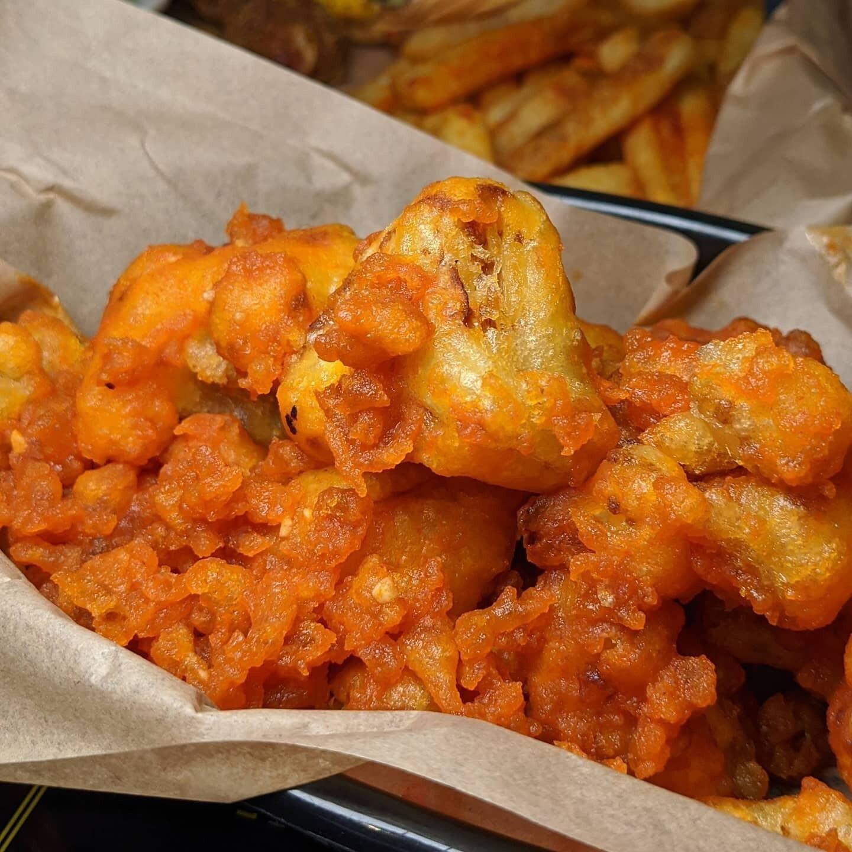 Cauliflower Wings (Vegan)