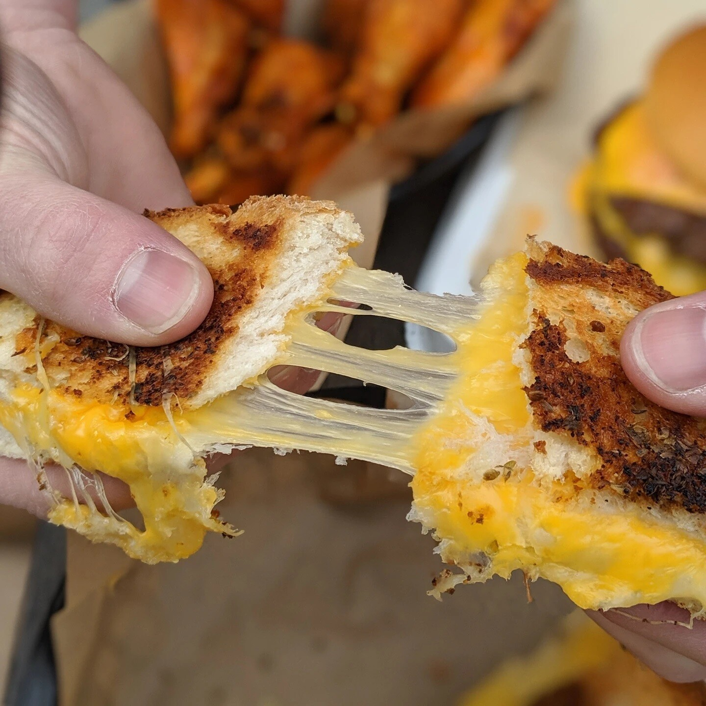 Sourdough Grilled-Cheese