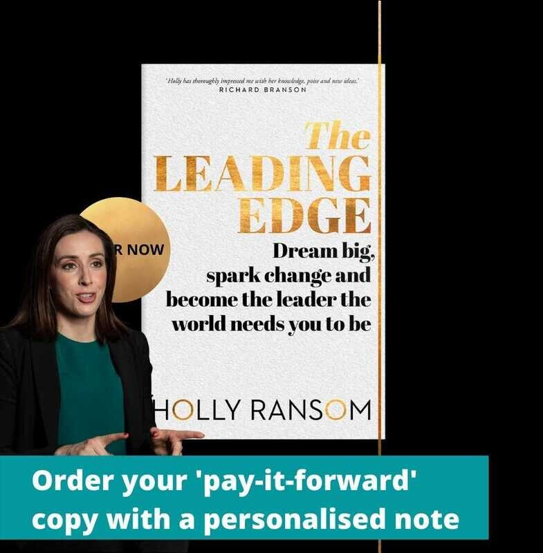 The Leading Edge - pay-it-forward copy from Holly Ransom