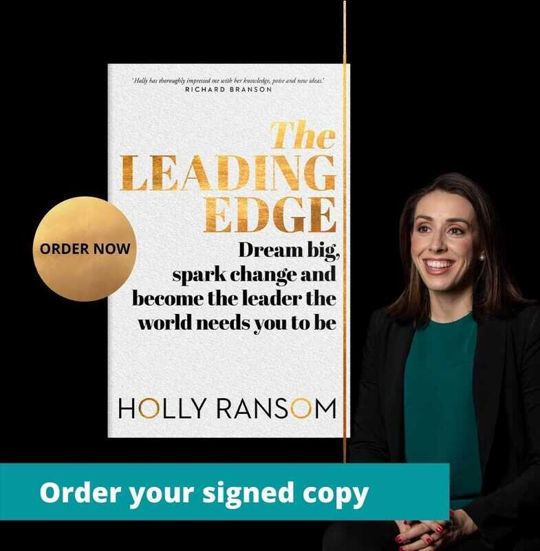 The Leading Edge - signed copy from Holly Ransom