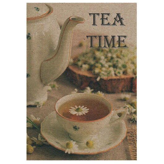 "Открытка ""Tea time"""