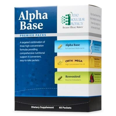 Alpha Base Premier Packs 30ct